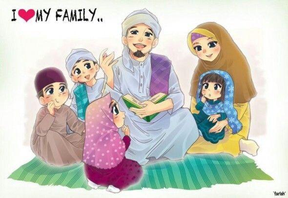 Gambar Anime Muslim